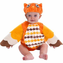 Disfraz Para Bebes De Buho Para Festival Dia De La Primavera