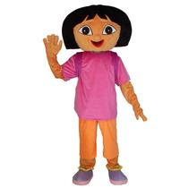 Botarga Traje Disfraz Tamaño Adulto Dora La Exploradora Hm4