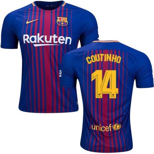 976dc6ceb4b6e  14 Coutinho Playera Jersey Camisa Barcelona 2018 Nike Origi