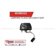 Lampara De Placa Gm Chevy / Accesorios