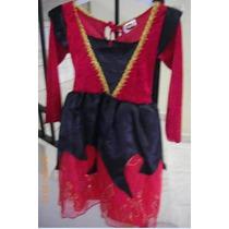 Disfraz De Niña Para Hallowen Talla 6-7