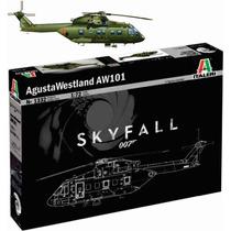 Italeri Helicoptero Skyfall 007 Aw101 1/72 Armar Pintar
