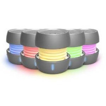Ihome Ibt73 Que Cambia De Color Sistema De Altavoces Mini Re