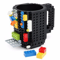 Taza Build On Con Diseño De Blocks De Construcción Lego