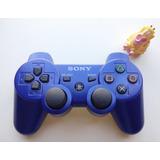 Control Inalambrico Original Azul Ps3 * Mundo Abierto Vg *