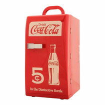 Mini Enfriador Koolatron 18 Latas Coca- Cola Retro
