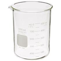 Corning Pyrex 1000-600 Cristal 600 Ml Graduado Forma Baja Gr