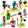 Coleccion Sw1 Plantas Contra Zombies Compatible Con Lego