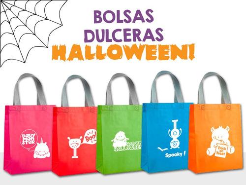 c4dacfb1b Bolsas Dulceras Halloween Ecológicas 15 Piezas Bicolor en venta en ...