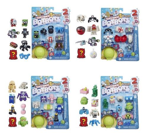 Transformers Botbots Toys Series 1 - Empaque De 8 Figuras
