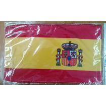 Bandera De España .90x1.58 Mts Poliester Satinado