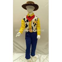 Disfraz Tipo Woody Toy Story Vaquero Incluye Sombrero Niño
