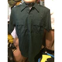 Camisa Tactica 5.11 L M/corta Verde Teflon