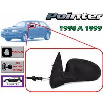 98-99 Volkswagen Pointer Espejo Manual Izquierdo 2 Puertas