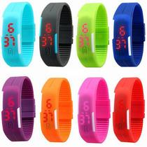 Reloj Touch Led Delgado, Unisex, Moda, Varios Colores