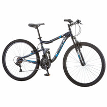 Bicicleta Rodada 27.5 Mongoose Ledge 2.1 Negro/azul Hombre
