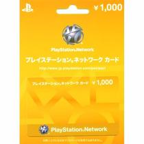 Playstation Network Cards - Japonesas