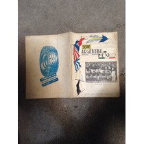 Programa Serie Argentina-mexico 1942
