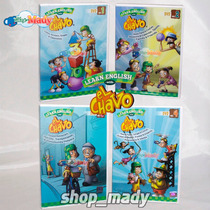 Learn English With El Chavo Vol. 1, 2, 3 Y 4 En Dvd