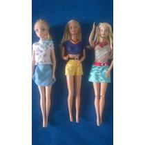 Barbies, Top Model, My Scene, Lote, Solas, Morenas, Variedad