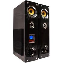 Par De Torres Audio Profesional 3500w Usb Sd Bluetooth Xaris