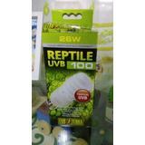 Foco Exo Terre Reptil Uvb 100 26w Reptiles Tropicales.