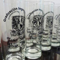Vasos Personalizados Serigrafía, Boda, Graduación, Fiesta