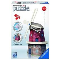 Molino De Viento 3d Puzzle 216 Piezas