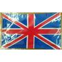 Bandera De Gran Bretaña .90x1.58 Mts Poliester Satinado