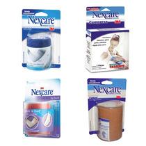 Kit Kit Deportivo Vendas + Compresa Frio-caliente Nexcare 3m