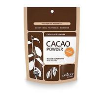 Navitas Naturals Orgánica De Cacao En Polvo De 16 Oz. Las Bo