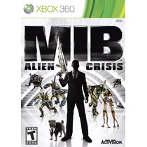 Men In Black Alien Crisis Nuevo Sellado Xbox 360