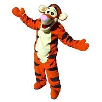 Botarga Disfraz Tigger Winnie Pooh Traje Tamaño Adulto