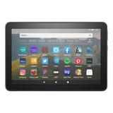 Tablet Con Funda Amazon Fire Hd 8 2020 8  32gb Black Con Memoria Ram 2gb