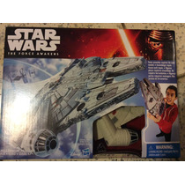 Halcón Milenario Star Wars The Force Awakens De Hasbro