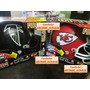 Mini Casco Nfl Fibra Optica Riddell Kansas City Chiefs / Fn4