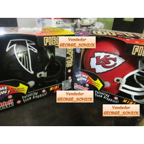 Mini Casco Nfl Fibra Optica Riddell Kansas City Chiefs / Vbf