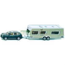 Camioneta Familiar Con Caseta Remolcable Siku Escala 1:55