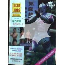 Revista De Lucha Libre,ultraman!!unica En El Mercado!!
