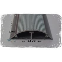 Canaleta De 1/2 Caña Aluminio Para Piso Ducto Utp Coaxial