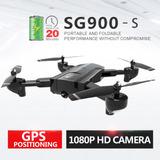 Drone Sg900-s Gps Cámara 1080p Wifi Fpv Autonomía 20 Minutos