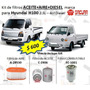 Kit Filtros Hyundai 2.5l H100 Aceite+aire+diesel