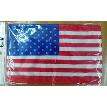 Bandera Estados Unidos De America Usa .90x1.58 Mts Poliester