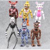 14-17 Cm Five Nights At Freddy's Fnaf 6 Muñecos Flexibles