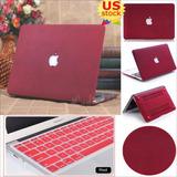 Macbook Air 11.6  - Wine Red (quicksand) - Piel Del Are-4857