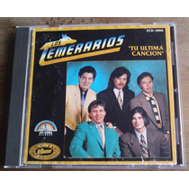 Los Temerarios Tu Ultima Cancion Cd Usa Afg Sigma Record Maa