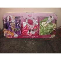 Disfraces Disney Princesas Set De Lujo 4 A 6 Años