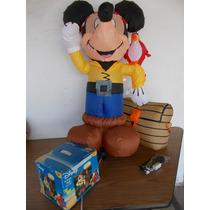 Inflable De Mickey Mouse Disney Decoracion 4pies Alto #a133