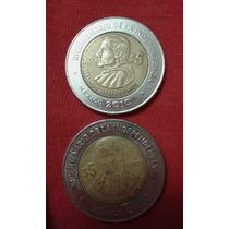 Monedas De 5 Bicentenario Y Centenario De La Revolución