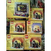 Set Lego Dracula, Santa Y Porta Retrato Precio X Figura.